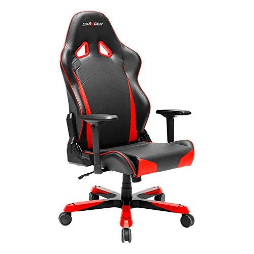 DXRacer-OHTC29NR-Ergonomic-Computer-Chair-for-Gaming-Executive-or-Home-Office-Tank-Series-Red-Black