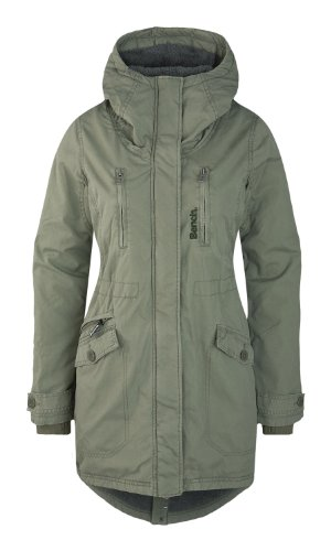 Bench Damen Parka TARA, deep lichen green, XS