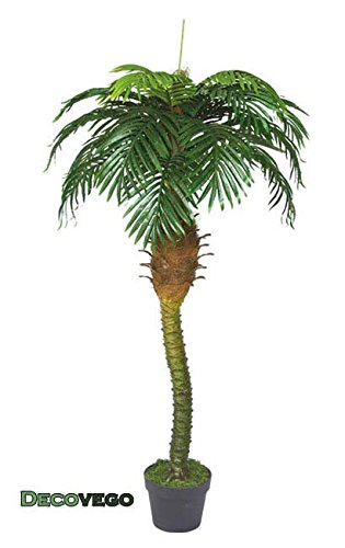 Palme-Palmenbaum-Knigspalme-Cocospalme-Kunstpflanze-Kunstbaum-Knstliche-Pflanze-mit-Topf-180cm-Decovego
