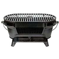 Lodge L410 Pre-Seasoned Sportsman's Charcoal Grill from Lodge