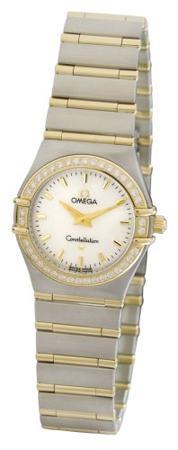 Omega Women's 1277.70.00 Constellation Quartz Small Diamond Bezel Watch