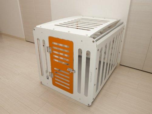 Hybridcage70 天板ホワイト H70(オレンジ扉)