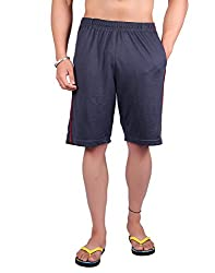 LLUMINATI FASHIONS MEN'S SOLID SHORTS (42)