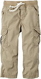 Carters Toddler Boys Cargo Pants 3T Khaki