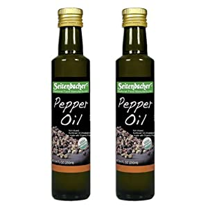 Seitenbacher Organic Oil Pepper 84-ounce Bottles Pack Of 2 by Seitenbacher America