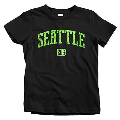 Smash Vintage Kids Seattle 206 T-shirt