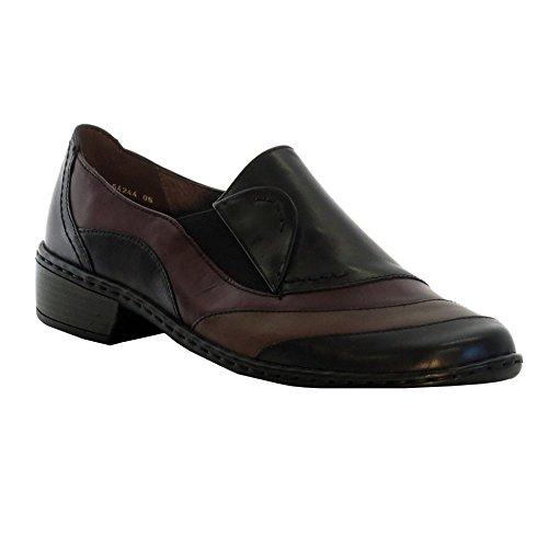 JENNY ARA Jenny Ara Womens Shoe 64244-22 Black Multi 4 Leather
