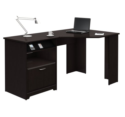 Cabot Collection:60-inch Corner Computer Desk