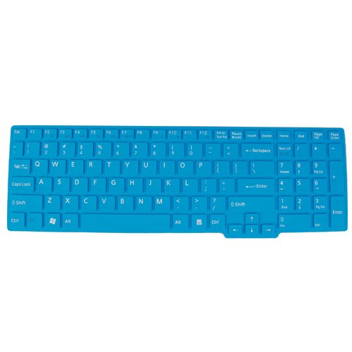 Glum Silicone Keyboard Cover for SONY EB Series 15.5 inch Laptop US Layout