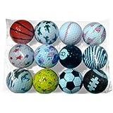 Fun Golf Balls (1 Dozen)