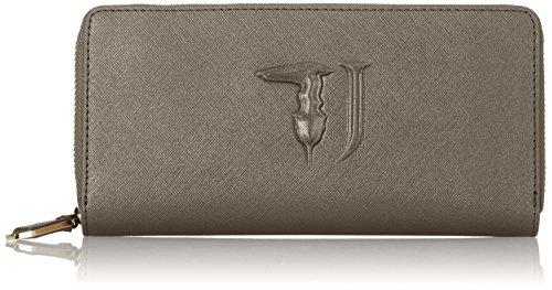 Trussardi Jeans Ischia Portamonete, 21 cm, Gun Metal