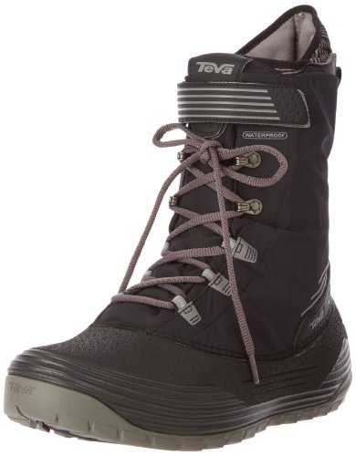 Teva Mens Chair 5 Print WP M's Snow Boots Black Schwarz (black 513) Size: 6.5 (40.5 EU)