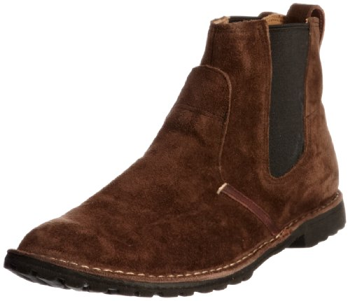 Timberland Men's Rugged Chelsea Brown Pull On Boot 5242R 8 UK