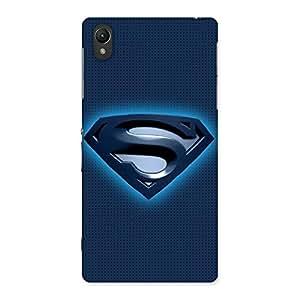 Cute Premier Blue Day Multicolor Back Case Cover for Sony Xperia Z2
