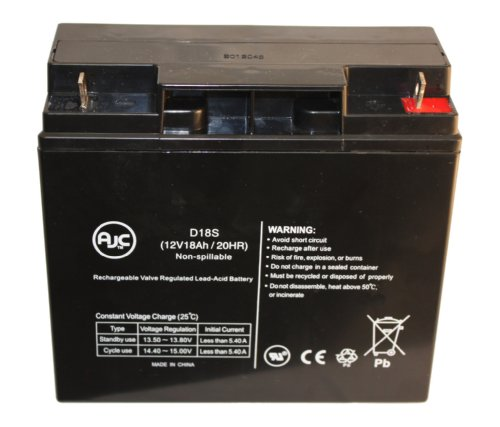 Briggs & Stratton B193043GS 12V 18Ah Generator Battery - This is an AJC Brand™ Replacement