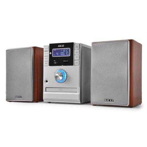lautsprecher kaufen akai stereoanlage kompaktanlage amp110 cd mp3 player usb sd radio aux. Black Bedroom Furniture Sets. Home Design Ideas