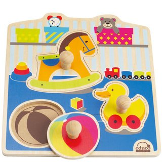 418lsMbUSuL Cheap Price My Toys Knob Puzzle