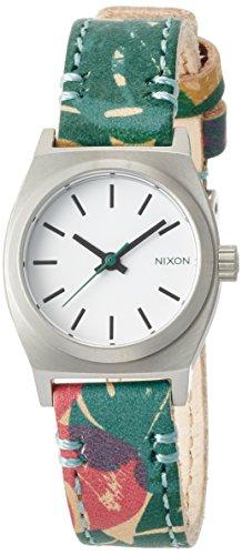 [ニクソン]NIXON 腕時計 SMALL TIME TELLER LEATHER: PALMADE NA5092280-00 レディース 【正規輸入品】