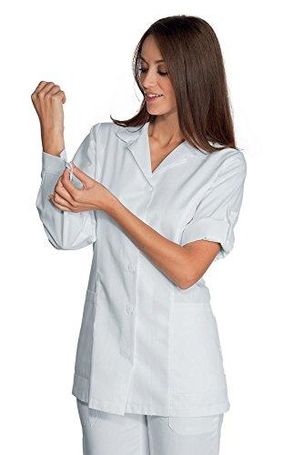 012007 Casacca Odessa Bianco per Abbigliamento per settori sanitario, benessere ed estetico Donna Casacche