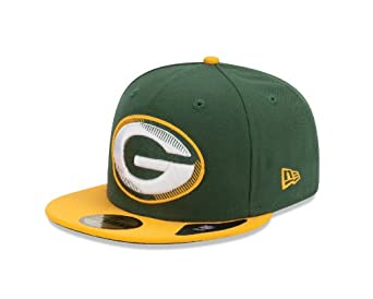 NFL Green Bay Packers Edge Flare 5950 Fitted Cap by New Era