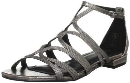 Ravel Women's Judge Pewter Ankle Strap RLP805