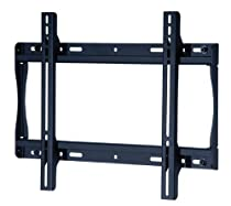 """Peerless SF640P Universal Fixed Low-Profile Wall Mount for 32"""" to 60"""" Displays (Black/Non-Security)"""