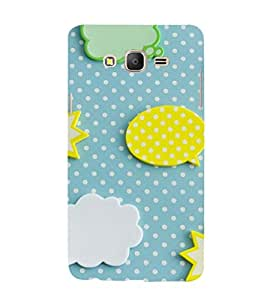 EPICCASE clouds and stars Mobile Back Case Cover For Samsung Galaxy E7 (Designer Case)
