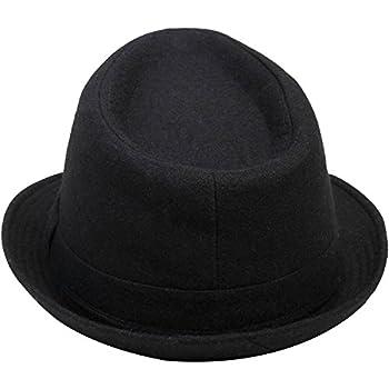 Simplicity Women Men's Fashion Fall / Winter Dapper Fedora Hat w/ Wide Brim