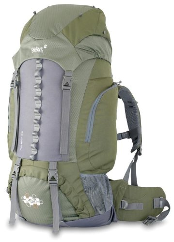 Gelert Shadow Rucksack - Forest Green/Charcoal, 85+10 Litre