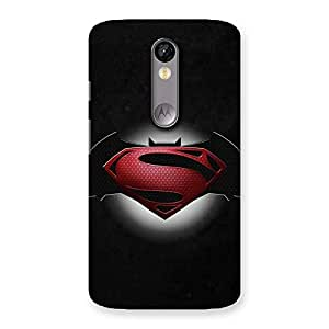 Gorgeous Premier Knight Vs Day Multicolor Back Case Cover for Moto X Force