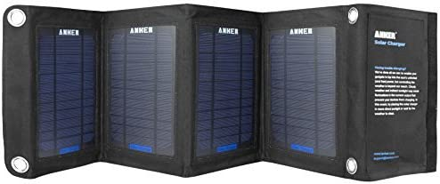 Anker® 14W Dual-Port Solar Charger with PowerIQ™ Technology