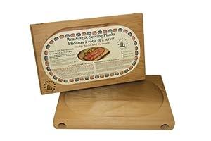 Nature's Cuisine NC002B Cedar Oven Roasting Plank without Wrench, 12 by 7-3/4-Inch by Nature's Cuisine