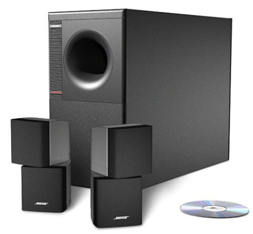 Bose Acoustimass 5 - Speaker System, ideal for stereo or home theater use - Black