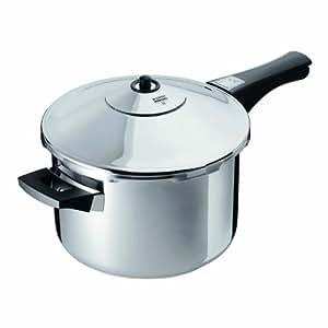 Kuhn Rikon Stainless-Steel Pressure Cooker, 5 qt