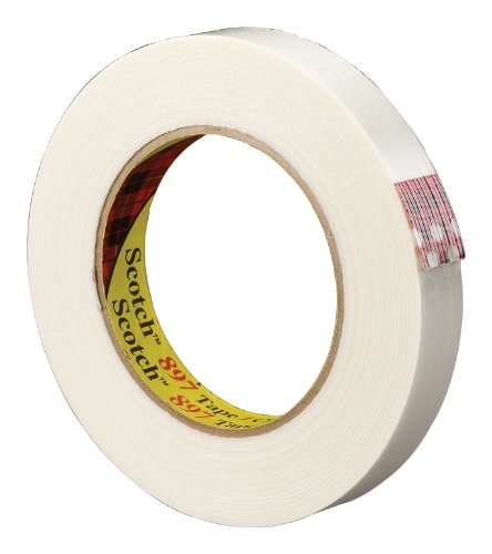 Scotch Filament Tape 897 Clear, 18 Mm X 55 M (Pack Of 1) front-167316