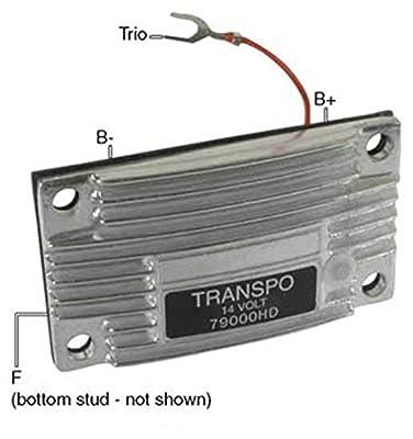 New Hd Voltage Regulator For Leece Neville Alternator Replaces 79000 102200