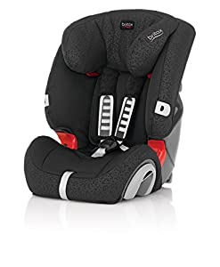Britax EVOLVA 1-2-3, Gruppe 1-2-3 (9-36kg), Black Thunder from Britax