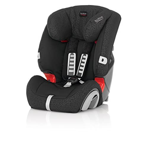 Britax Evolva Group 1 2 3 Combination Car Seat (Black Thunder)