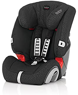 Britax Evolva Group 1/2/3 Combination Car Seat - Black Thunder