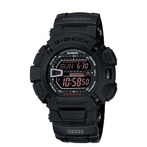Casio G Shock Digital Dial Black Resin Mens Watch G-9000MS-1