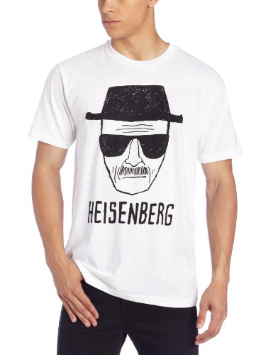 Breaking Bad Men's Heisenberg Short Sketch T-Shirt