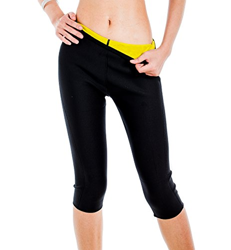 ValentinA Womens Slimming Pants Hot Thermo Neoprene Sweat Sauna Body Shapers (Is Registered compare prices)