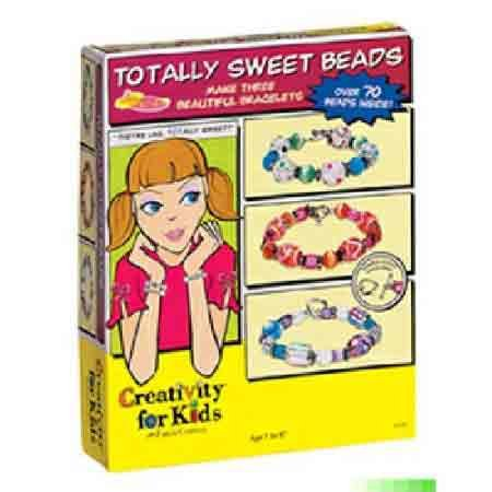 Creativity for Kids Kit - Totally Sweet Beads - 1