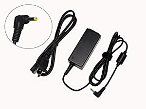 Samsung Replacement 40W AC Adapter For Netbook NC10-11GP (NP-NC10-KA04US), NC10-12PWBK (NP-NC10-WAS1US), NC10-13GB (NP-NC10-KB02US), NC10-13P (NP-NC10-KB03US), NC10-14GB (NP-NC10-KA02US), 100% OEM Compatible With AD-6019, SPA-830E, AA-PA2N40W.
