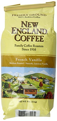 New England Coffee French Vanilla, 11 Ounce (Coffee Bean French Vanilla compare prices)