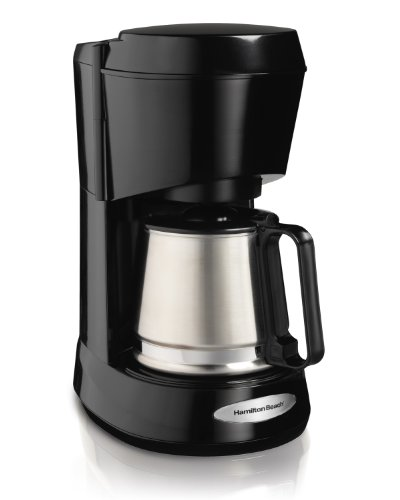 Hamilton Beach 48137 Coffeemaker with Stainless Carafe, 5-Cup