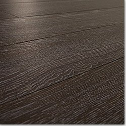 Laminate Flooring 7mm Narrow Board - Underpad Attached Tropical Wenge