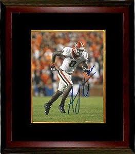 A.J. Green Autographed Photo - AJ Georgia Bulldogs 16X20 Custom Framed - Autographed... by Sports+Memorabilia