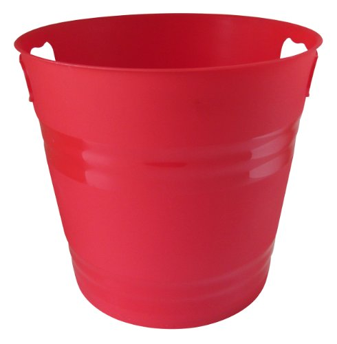 united-solutions-pa0018-red-two-gallon-plastic-party-pail-ice-bucket-2-gallon-plastic-ice-bucket-in-