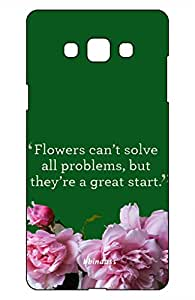 Galaxy On7 and On7 Pro - Printed hard back case cover